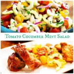 Tomato and Cucumber Salad with Mint: My Favorite Summer Grilling Side Dish