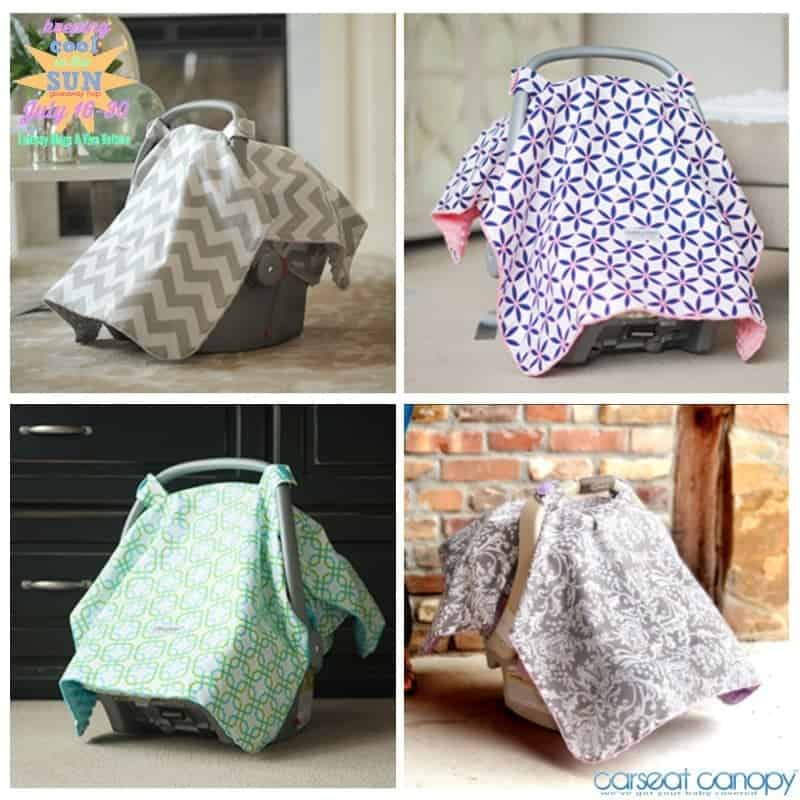 Keep Baby Cool in the Sun with a Car Seat Canopy
