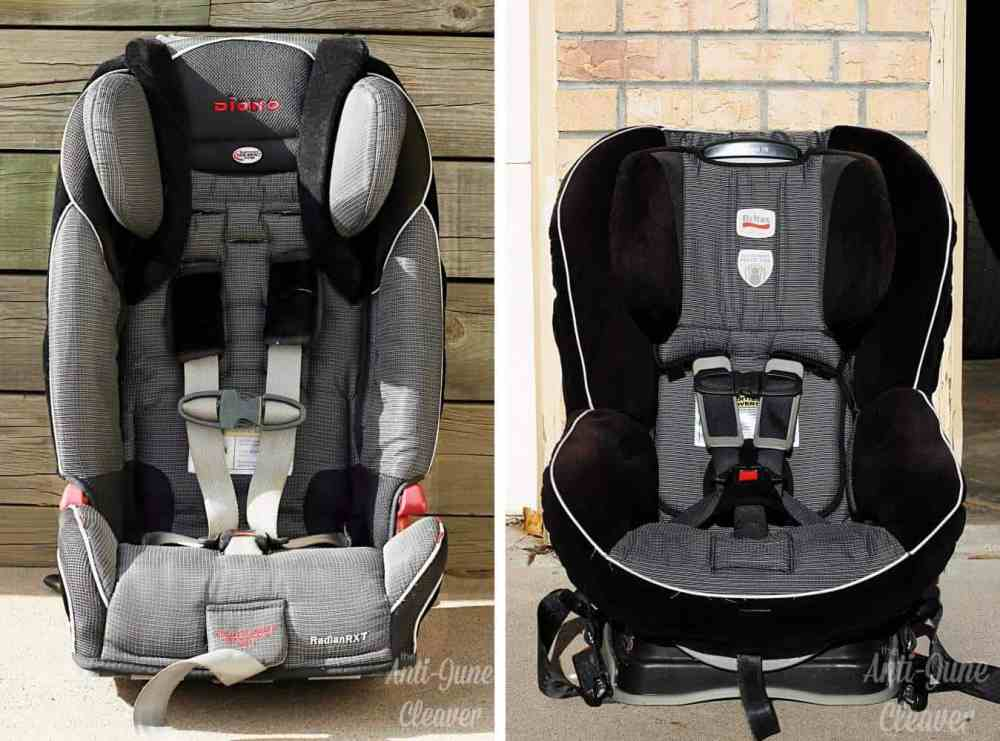 How to clean your dirty car seat, including the harness