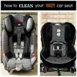 How to Clean Your Nasty Car Seat Cover
