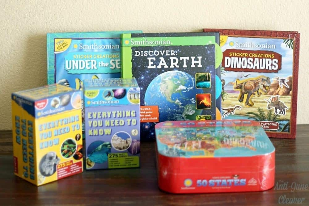 Smithsonian Children's Book Collection from Silver Dolphin Books