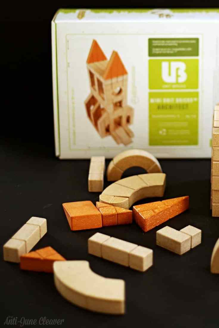 Holiday Gift Guide: Unit Bricks Earth-Friendly Building Blocks Review