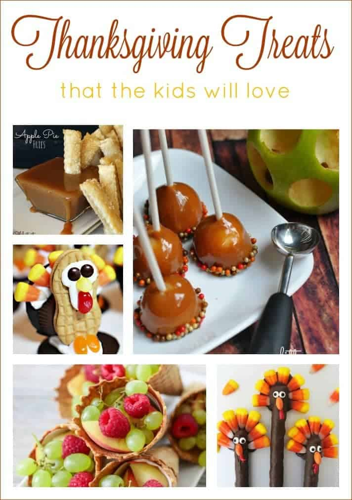 11 Thanksgiving Treats the Kids Will Love