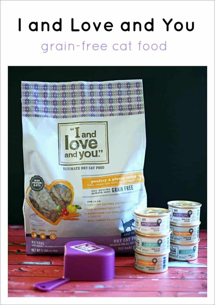 I and Love and You Grain-Free Cat Food Review