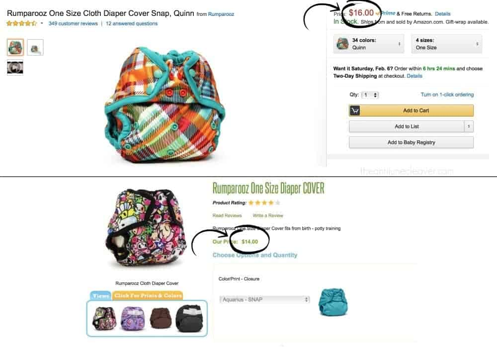 Why I Don't Buy Cloth Diapers on Amazon