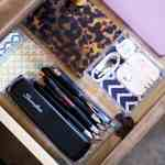 Give Your Desk Drawers Some Style with Simple Semi-DIY Desk Organizers