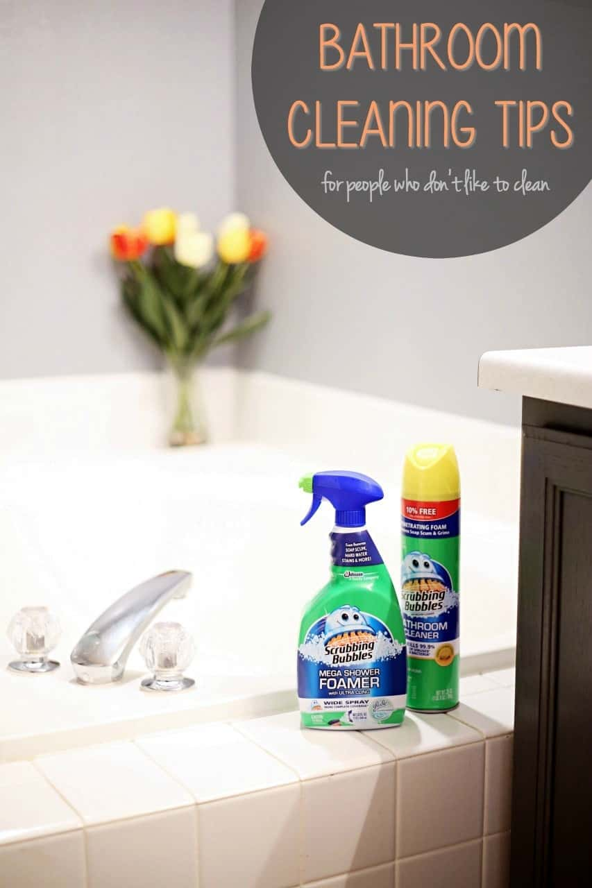 Ordinaire Bathroom Cleaning Tips For People Who Donu0027t Like To Clean #SCJMessyMoments  @walmart