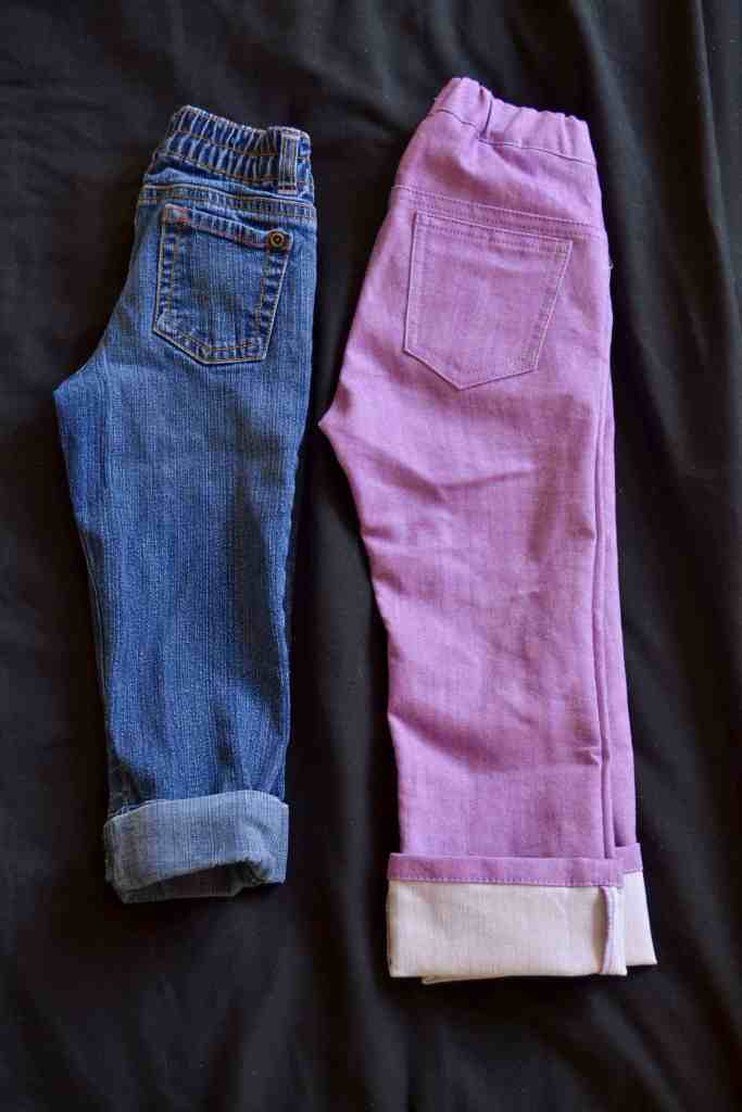 Project Pomona Jeans vs Standard
