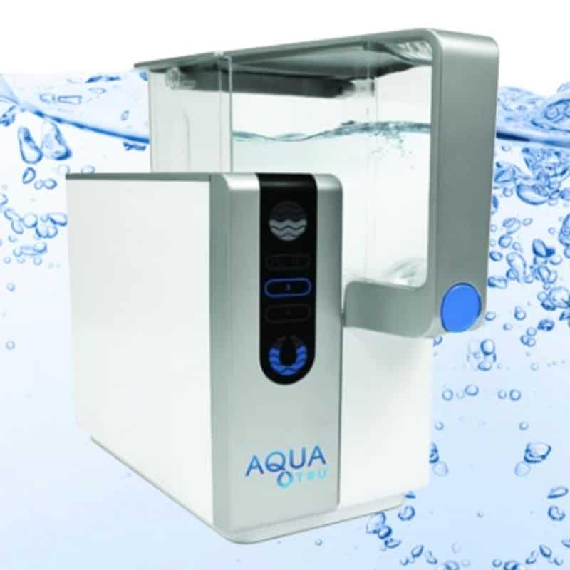 Get Bottled Water Quality at Home with the AquaTru Water Filter