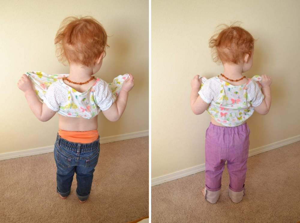 Project Pomona Eco Fit Jeans for Review - jeans that are perfect to wear with cloth diapers