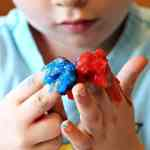 Fun with DIY Non-Toxic Homemade Finger Paint