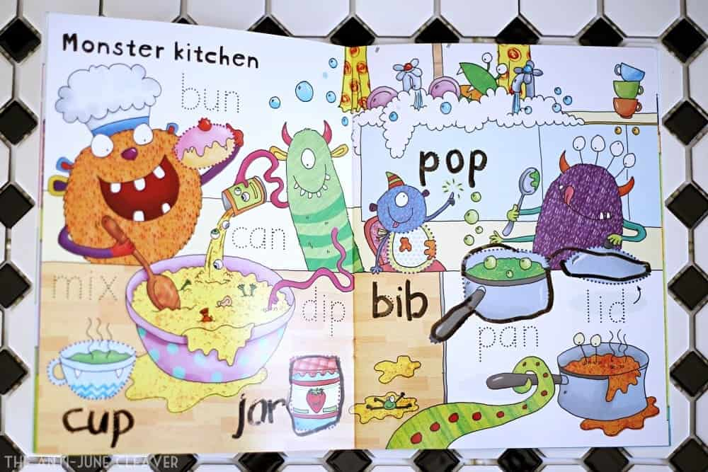 Getting Ready for Kindergarten with wipe-clean books Kids, school, learning activities, preschool