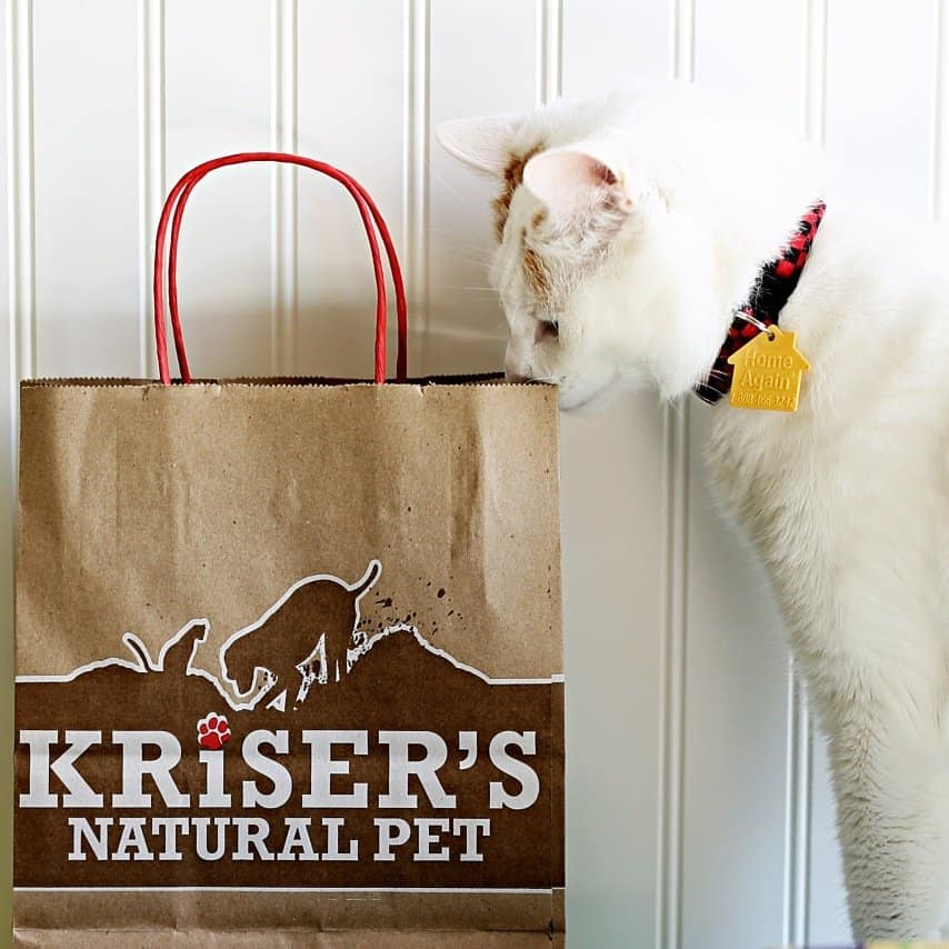 Feed and Care for Your Cats Naturally #HappyHealthyPets AD @KrisersPets