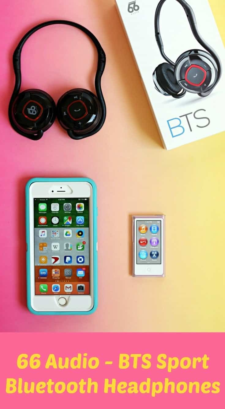 BTS Sport Wireless Bluetooth Headphones by 66 Audio