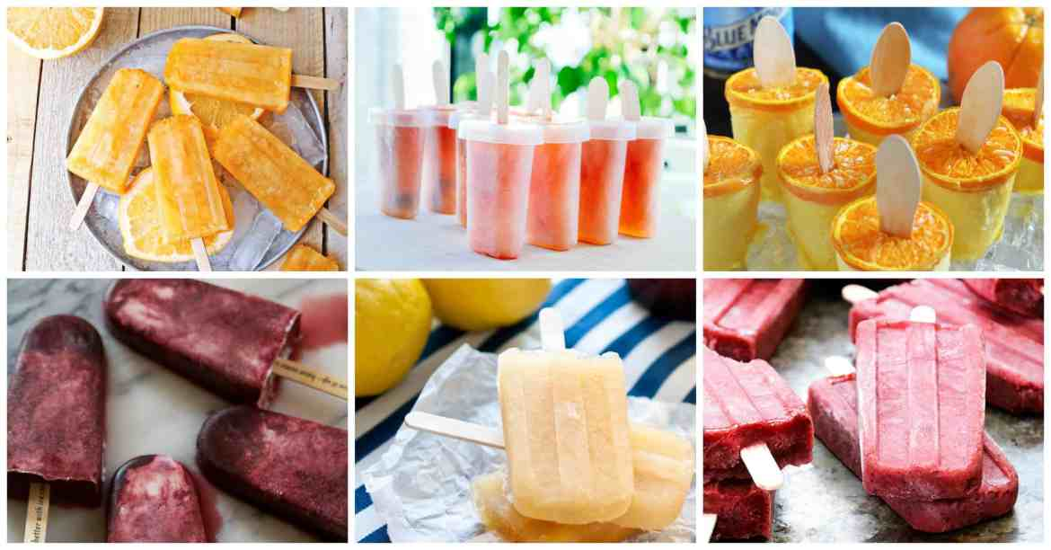 67 Poptails! Boozy alcoholic adult popsicles to cool off with this summer - beer