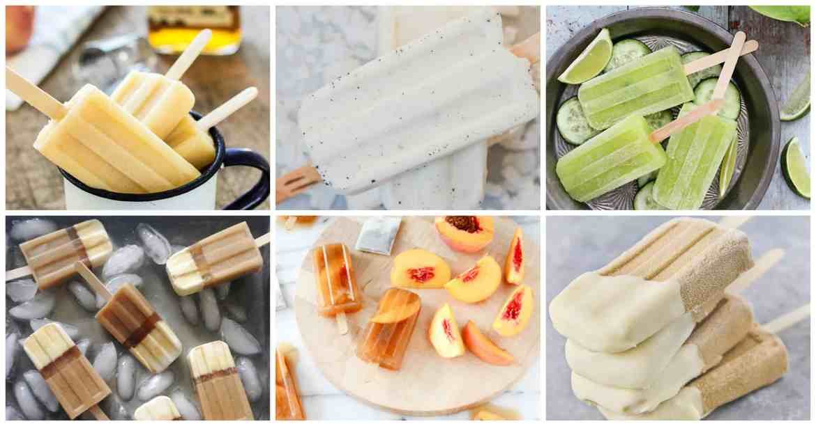 67 Poptails! Boozy alcoholic adult popsicles to cool off with this summer - mixed drinks