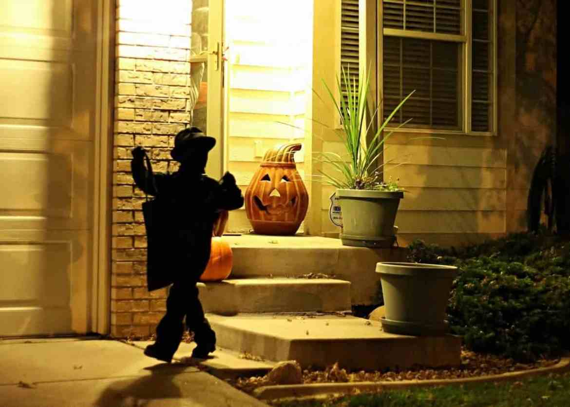 Easy Kids DIY Shadow Halloween Costume for Boys