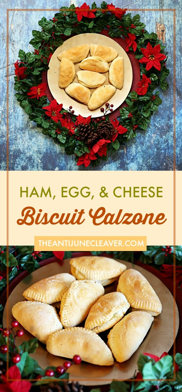 Breakfast biscuit calzones for easier mornings. Fill them with ham, egg, cheese, sausage, you name it! #ad #ImmaculateBaking #breakfast #easybreakfast #easymeals #biscuitdough #biscuitdoughrecipes