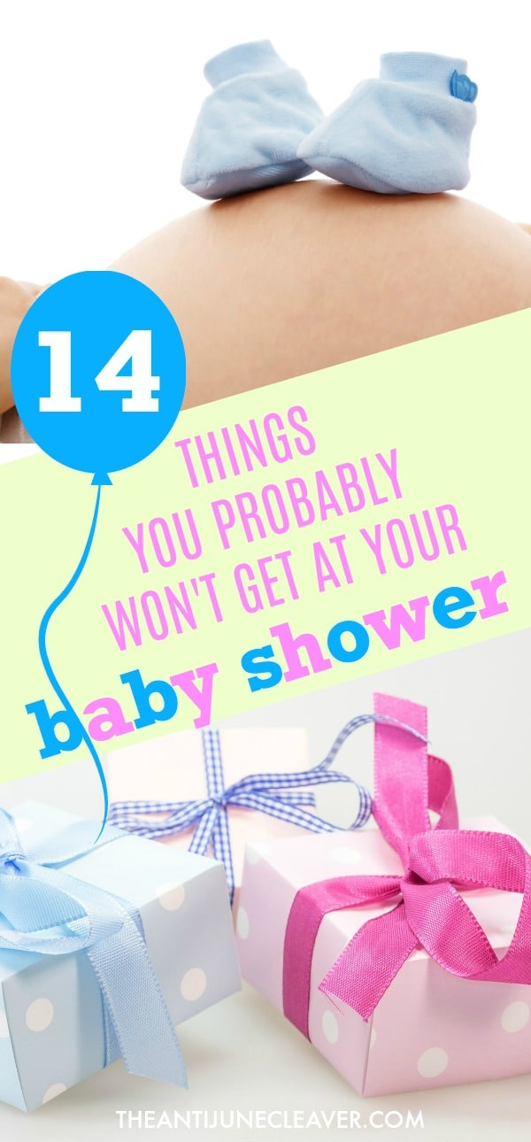 14 Baby Things You'll Need that You Probably Won't Get at Your Baby Shower #baby #babyneeds #babymusthave #babyshower