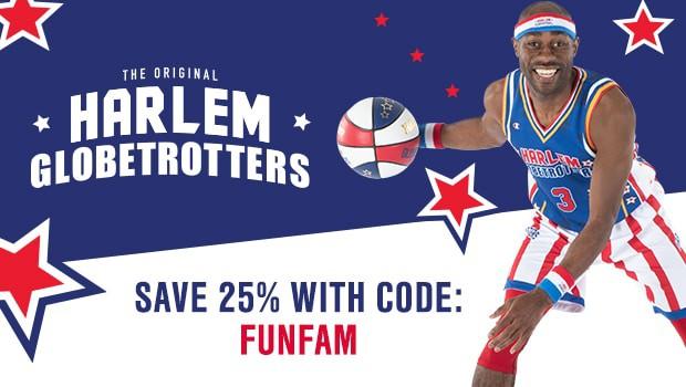 Harlem Globetrotters discount code