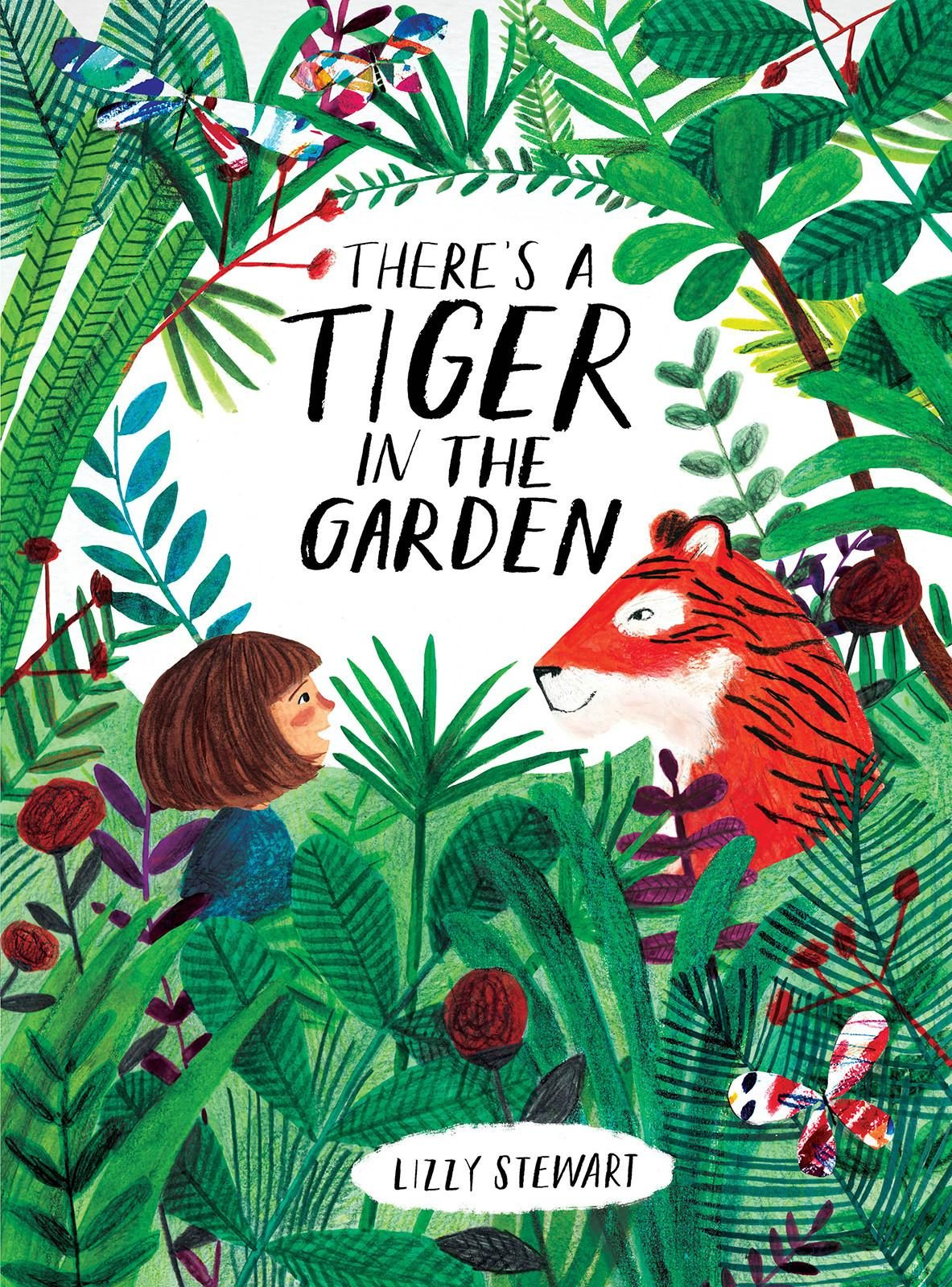 There S A Tiger In The Garden World Illustration Awards