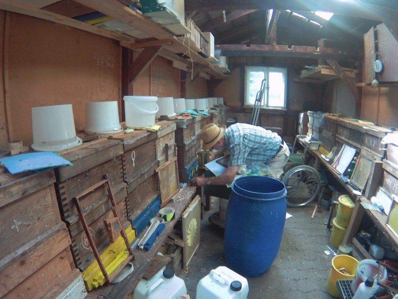 German Bee Houses Part 2 The Apiarist