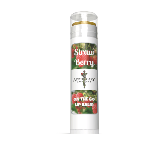The Apothecary Company Strawberry Lip Balm