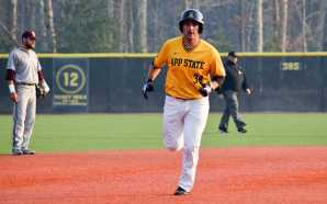App State baseball swept in weekend series