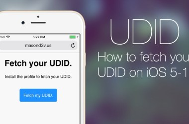 FAQ about iOS devices' UDID
