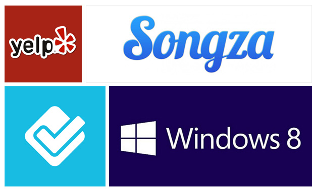 Foursquare, Yelp, And Songza Apps All Headed To Windows 8