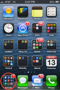 Sort The iPhone App Chaos