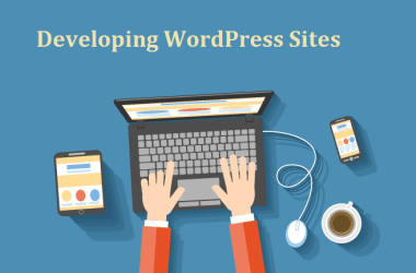 Developing wordpress site 1