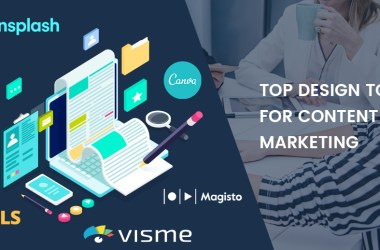 Top Design Tools For Content Marketing