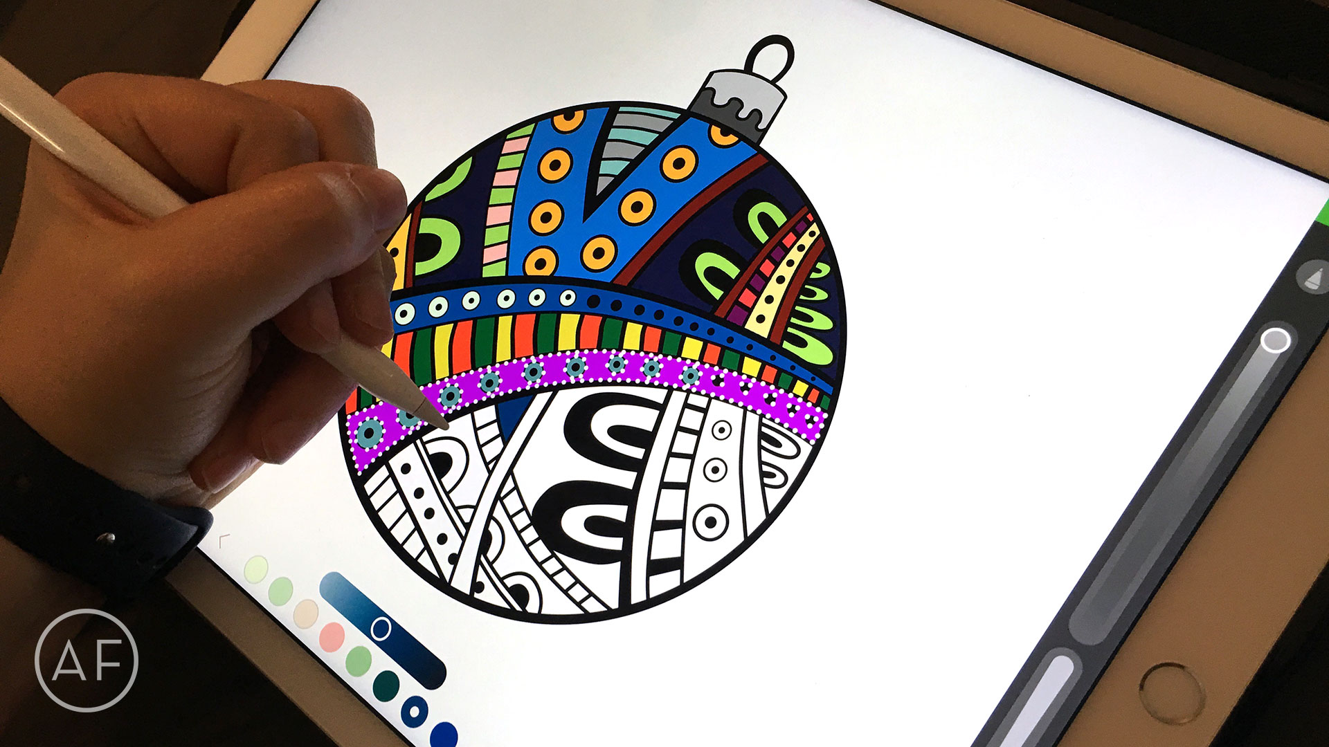How To Color With The IPad Pro And Apple Pencil