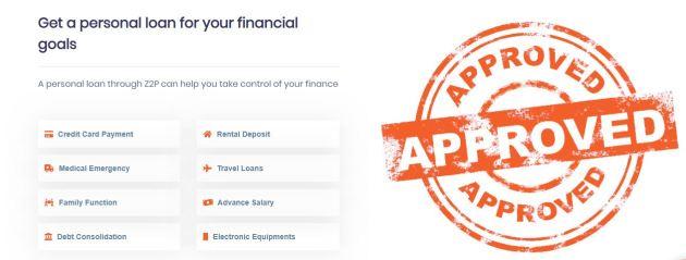 z2p loan types
