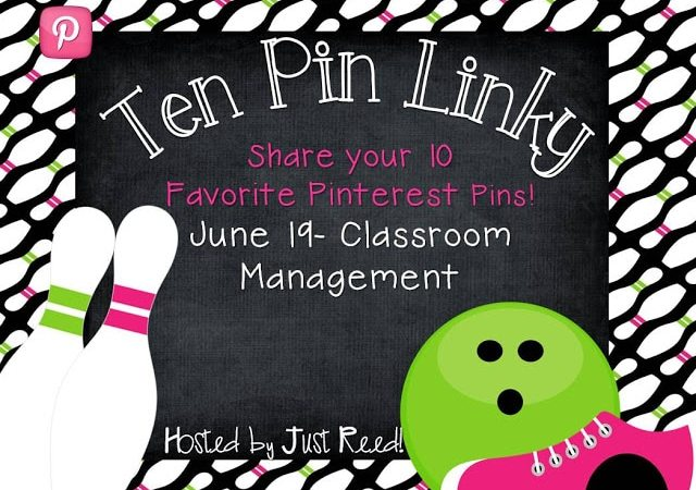 I Pin, You Pin, We ALL 10 Pin Linky Party