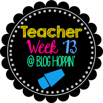 Teacher Week 2013- Now Teach! and a *tiny* Reveal!