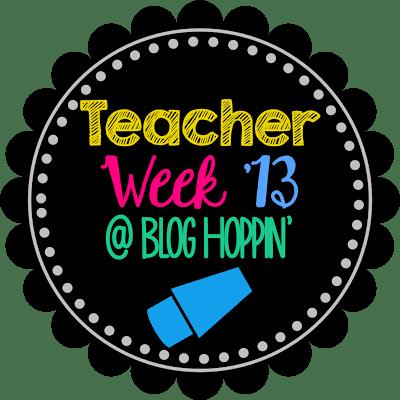 Teacher Week 2013- Now Teach! and a *tiny* Reveal!