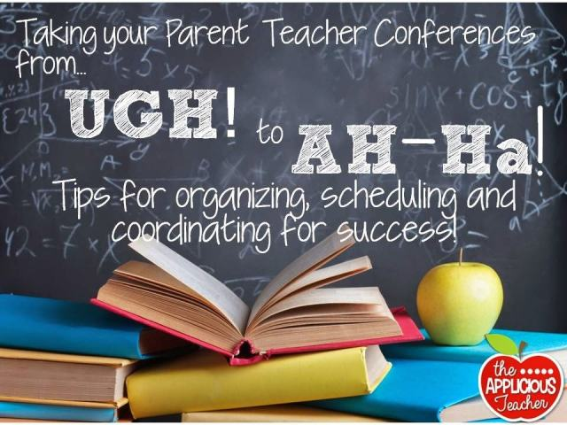 Taking your parent-teacher conferences for UGH to AWESOME!