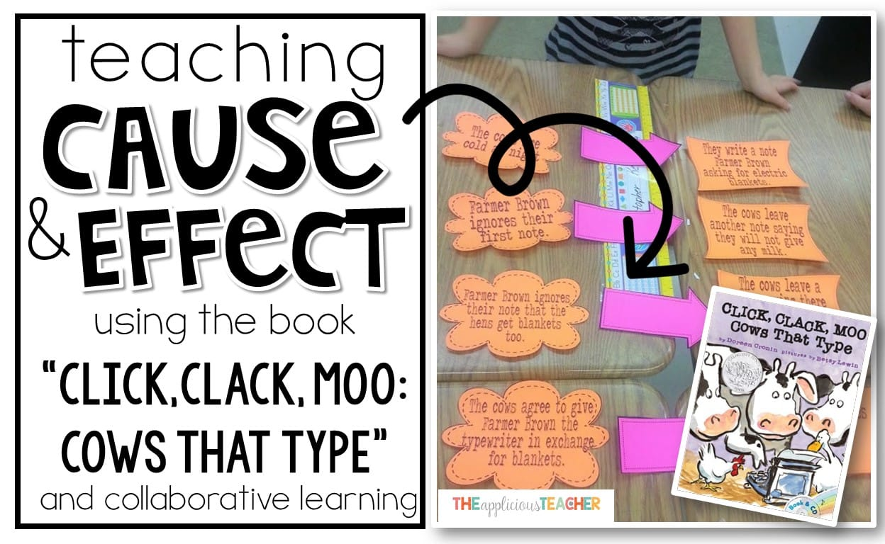 Teaching Cause And Effect Using Click Clack Moo