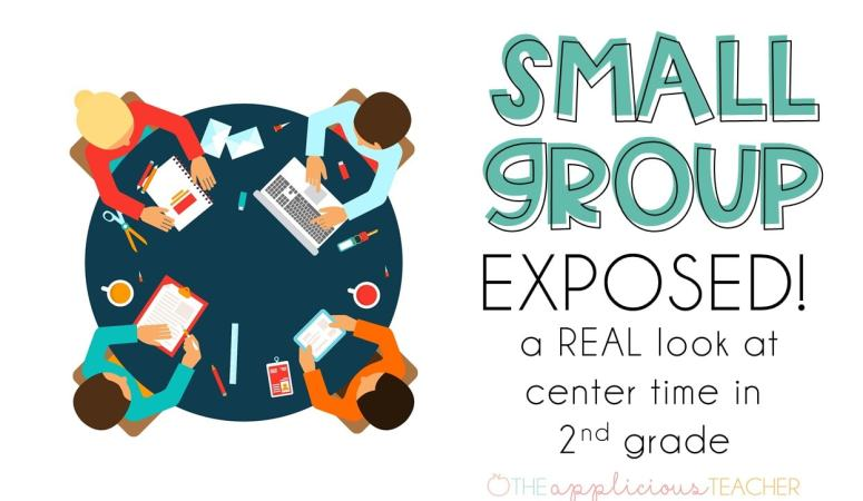 Small Group Time in 2nd Grade- EXPOSED!