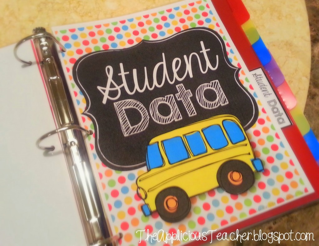 Student Data Binder Keeping Your Student Data Organized