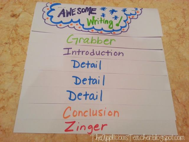 Awesome writing formula for elementary school
