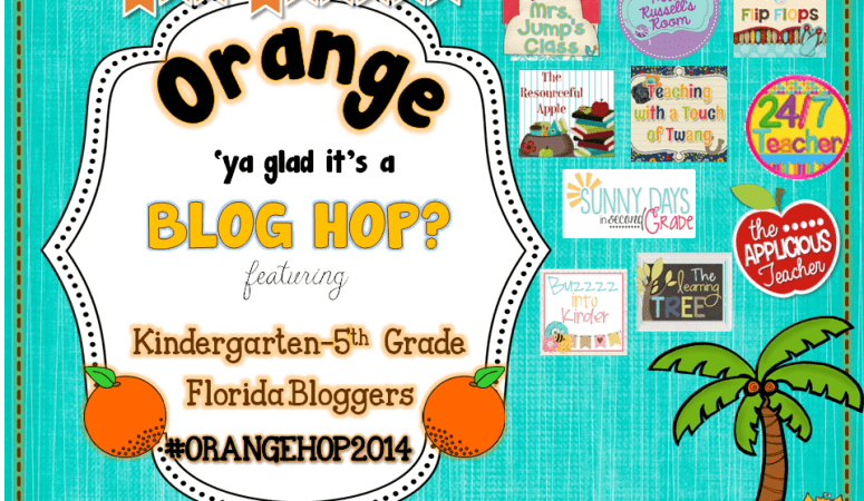 Orange Ya Glad It's a Blog Hop!