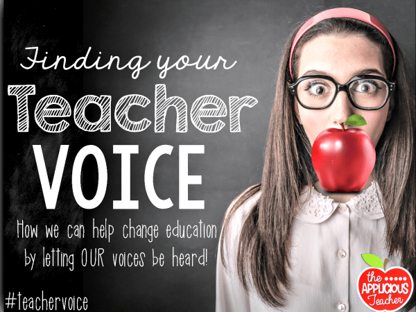 Finding Your Teacher Voice on Nov. 4th