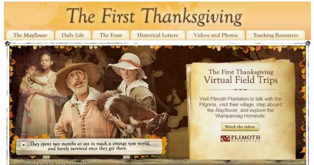 Interactive thanksgiving lesson plans