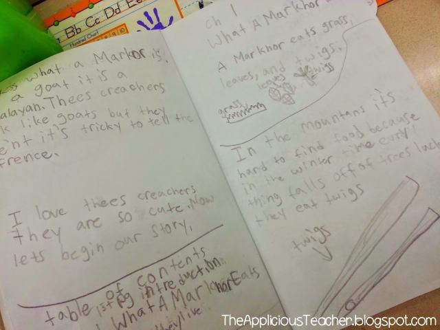 nonfiction student booklet