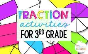 Fractions in 3rd Grade