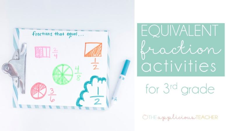 Equivalent Fractions – With a FREEBIE!