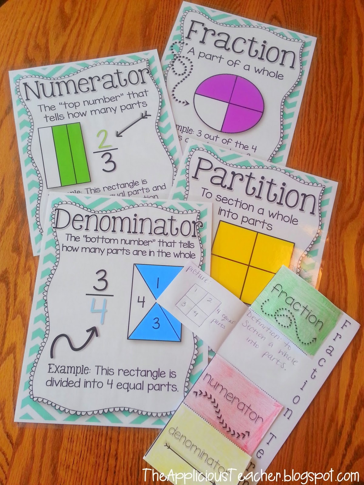 Fractions Part 2 With A Freebie